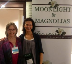 Moonlight and Magnolias - Romance Writer's Conference - Linda Hughes of Mudsill Memoirs and Stacy Clark of InKubate