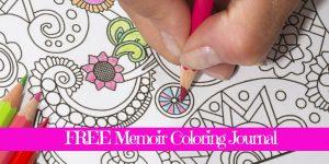 Memoir Magic - Free Memoir Coloring Journal